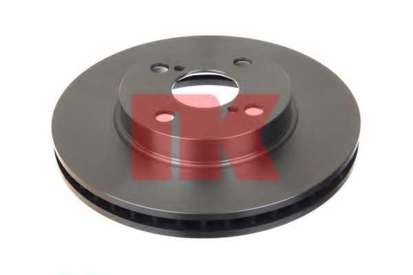 Тормозной диск NK 204582 - изображение