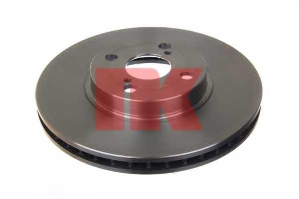 Тормозной диск NK 204583 - изображение 1