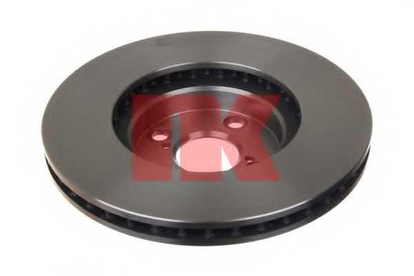 Тормозной диск NK 204583 - изображение