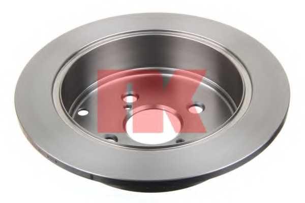 Тормозной диск NK 204584 - изображение 1