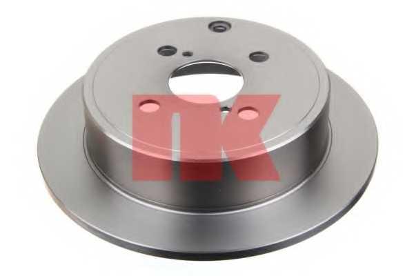 Тормозной диск NK 204584 - изображение
