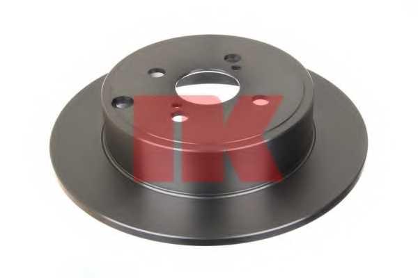 Тормозной диск NK 204585 - изображение 1