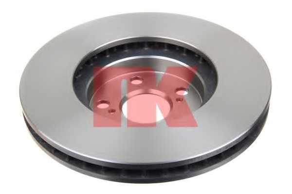 Тормозной диск NK 204586 - изображение 1