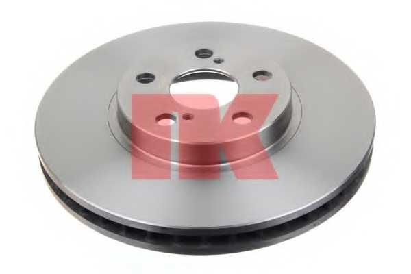 Тормозной диск NK 204586 - изображение