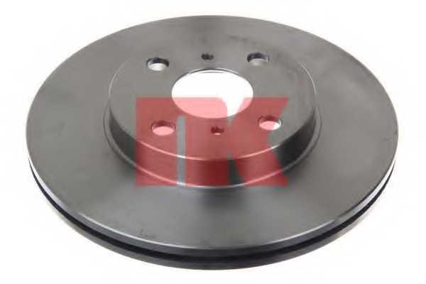 Тормозной диск NK 204588 - изображение 1