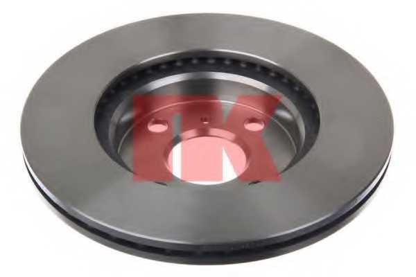 Тормозной диск NK 204588 - изображение