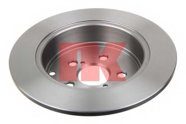 Тормозной диск NK 204589 - изображение 1