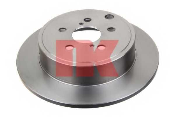 Тормозной диск NK 204589 - изображение
