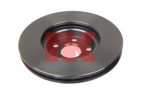 Тормозной диск NK 204590 - изображение