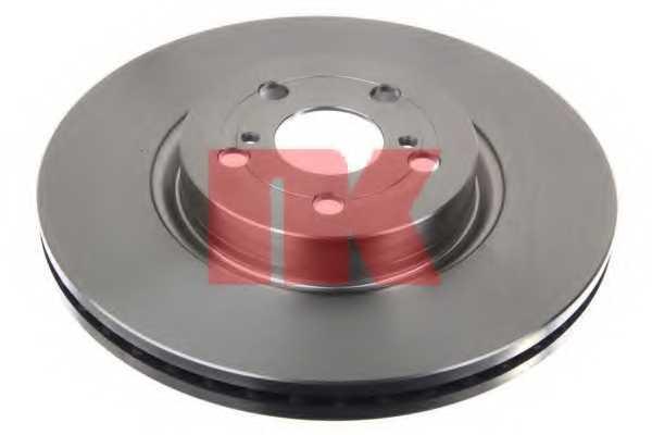 Тормозной диск NK 204591 - изображение