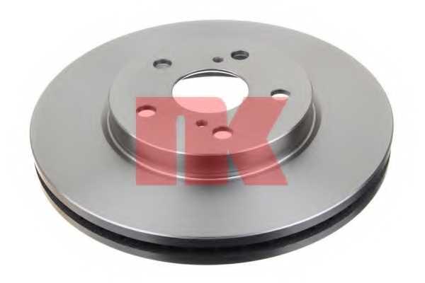 Тормозной диск NK 204592 - изображение