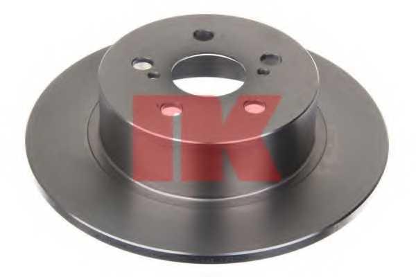 Тормозной диск NK 204593 - изображение