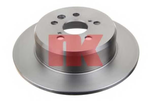 Тормозной диск NK 204594 - изображение 1