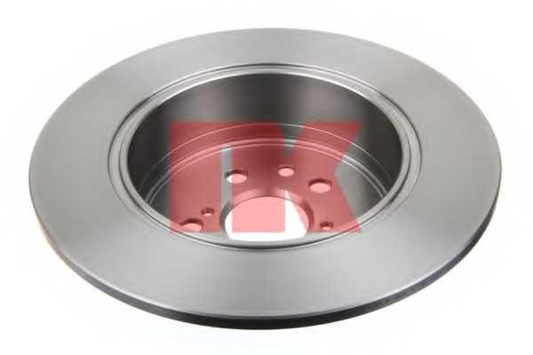 Тормозной диск NK 204594 - изображение