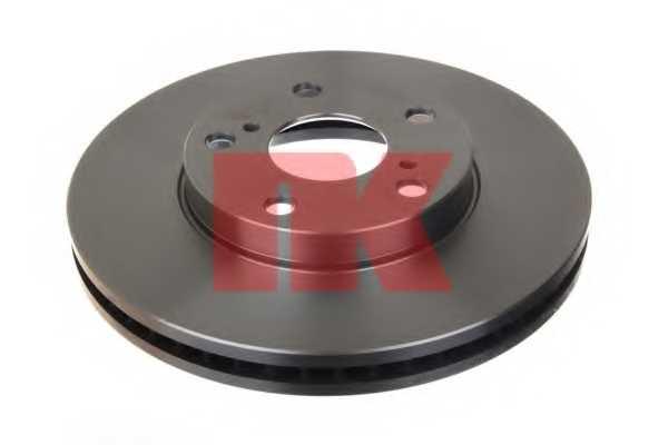 Тормозной диск NK 204596 - изображение 1