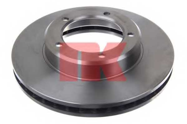 Тормозной диск NK 204597 - изображение 1