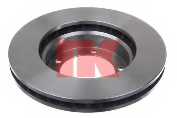 Тормозной диск NK 204597 - изображение