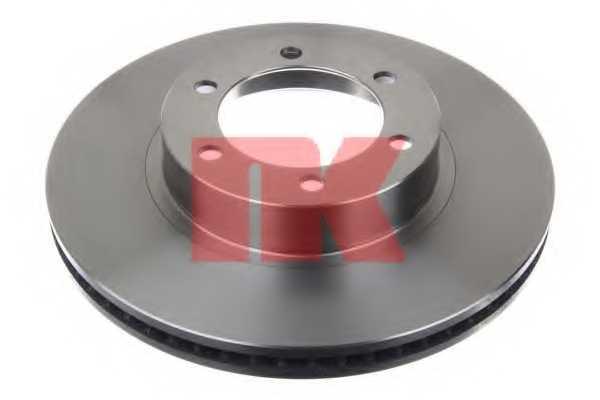 Тормозной диск NK 204598 - изображение