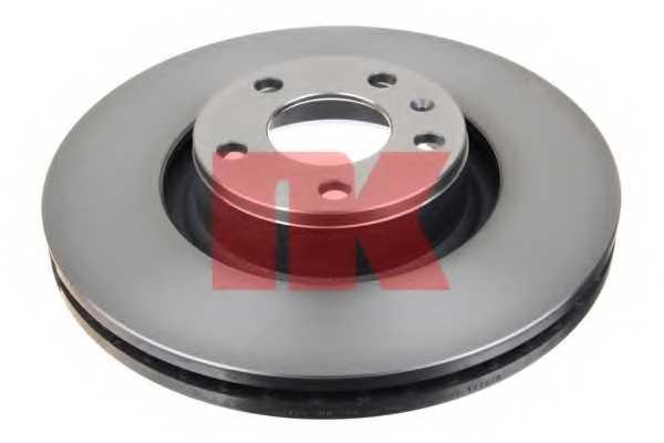 Тормозной диск NK 2047100 - изображение 1