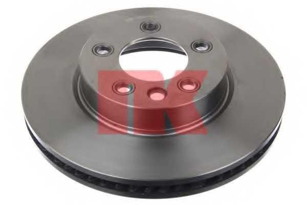 Тормозной диск NK 2047102 - изображение