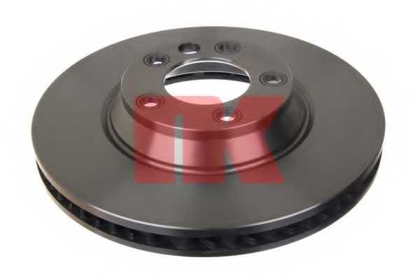 Тормозной диск NK 2047105 - изображение 1
