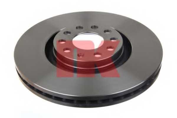 Тормозной диск NK 2047107 - изображение