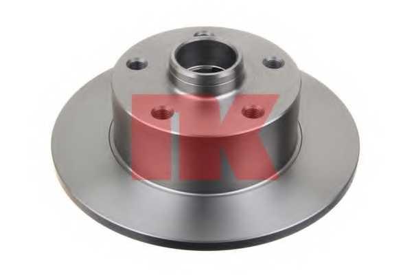 Тормозной диск NK 2047120 - изображение 1