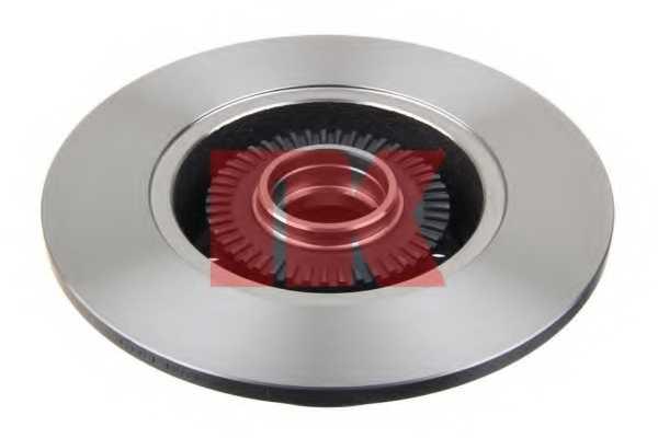 Тормозной диск NK 2047120 - изображение