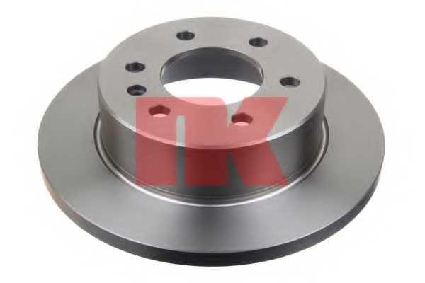 Тормозной диск NK 2047122 - изображение 1