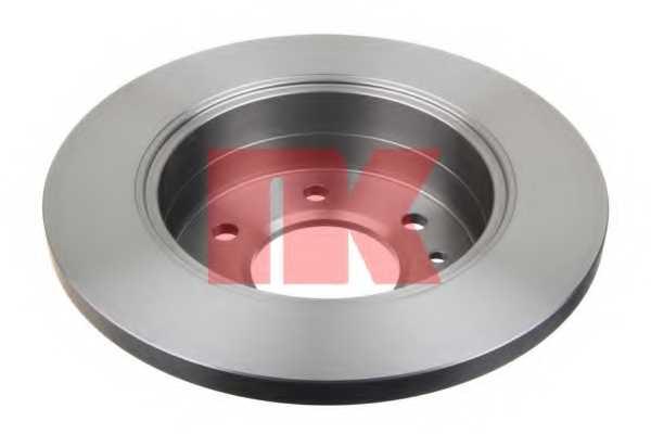 Тормозной диск NK 2047122 - изображение