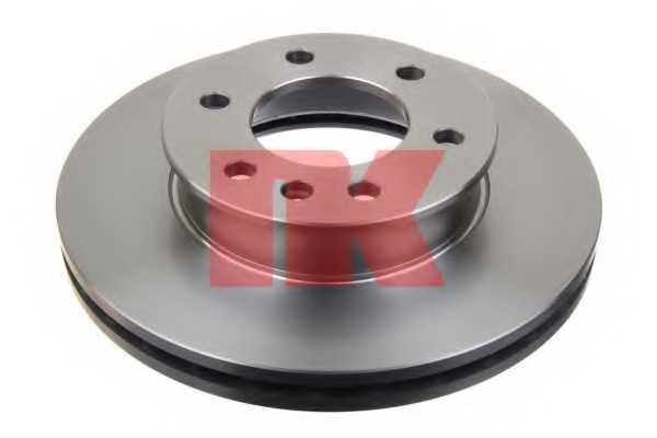 Тормозной диск NK 2047123 - изображение