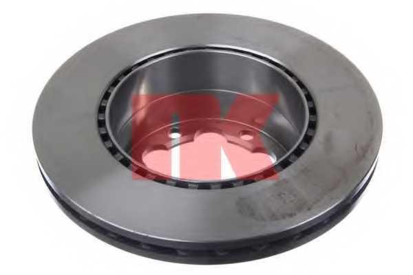 Тормозной диск NK 2047124 - изображение 1