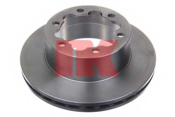 Тормозной диск NK 2047124 - изображение