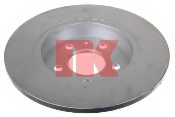 Тормозной диск NK 2047129 - изображение 1