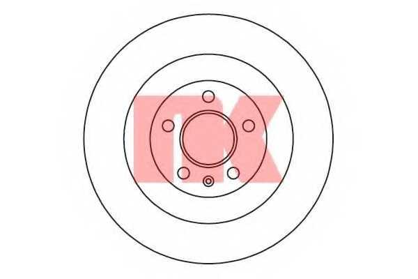 Тормозной диск NK 2047130 - изображение