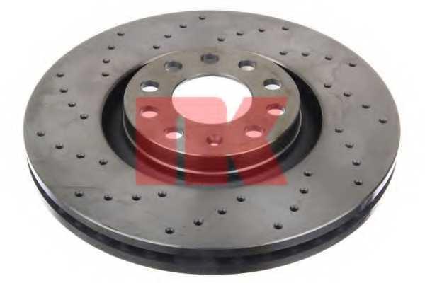 Тормозной диск NK 2047135 - изображение 1