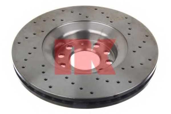 Тормозной диск NK 2047135 - изображение