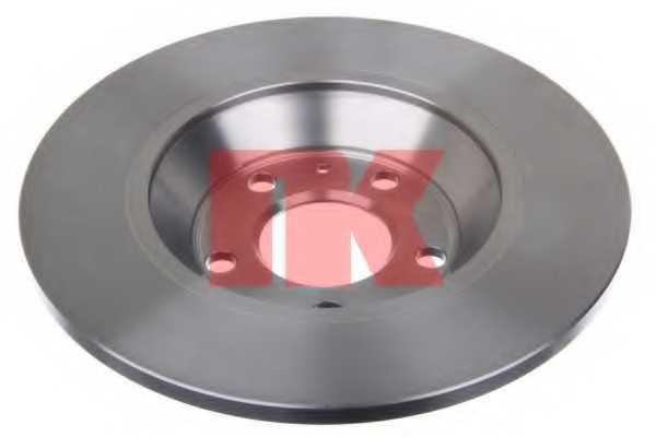 Тормозной диск NK 2047148 - изображение 1