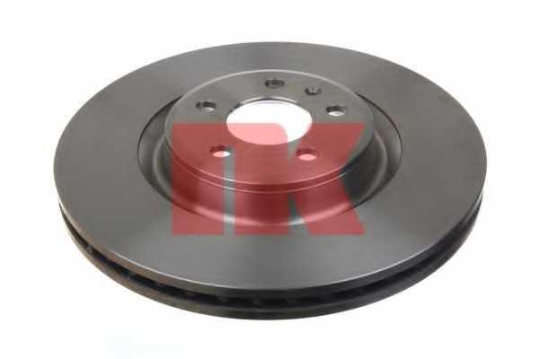 Тормозной диск NK 2047154 - изображение 1