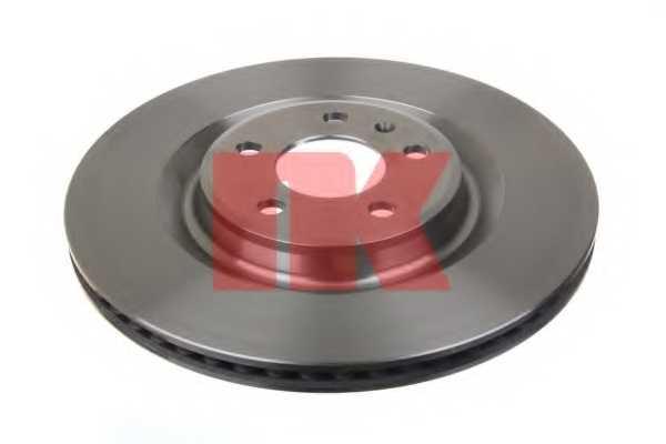 Тормозной диск NK 2047156 - изображение 1