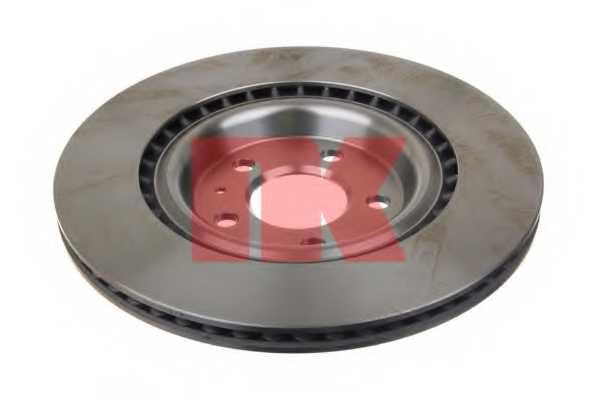 Тормозной диск NK 2047156 - изображение