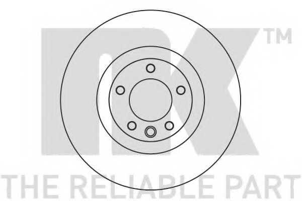 Тормозной диск NK 2047161 - изображение
