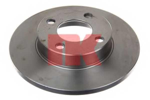 Тормозной диск NK 204718 - изображение