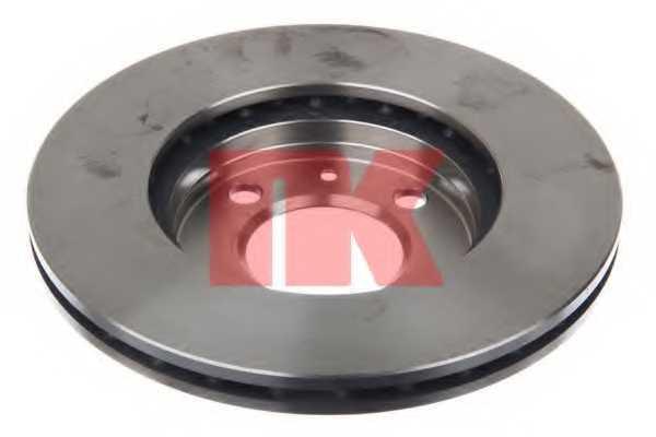 Тормозной диск NK 204724 - изображение 1