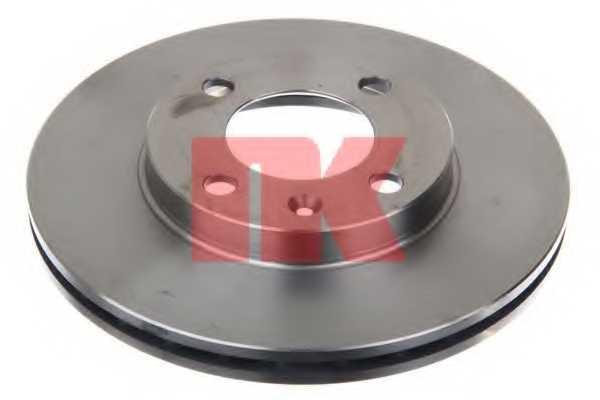 Тормозной диск NK 204724 - изображение