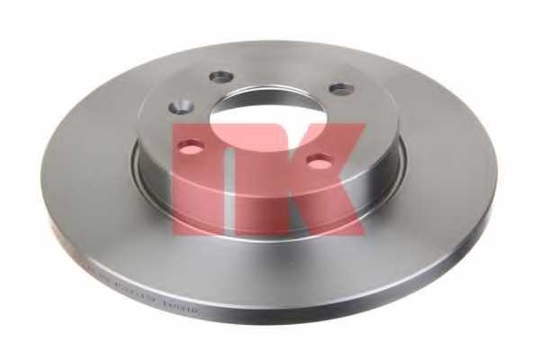 Тормозной диск NK 204728 - изображение 1
