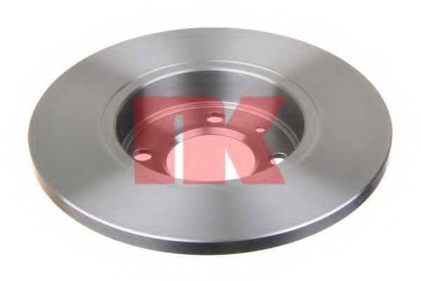 Тормозной диск NK 204728 - изображение