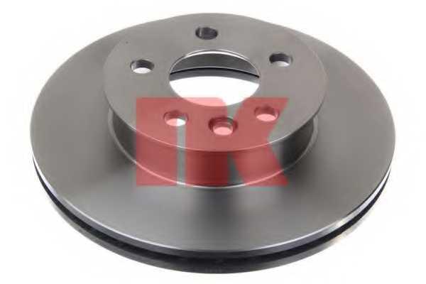 Тормозной диск NK 204733 - изображение