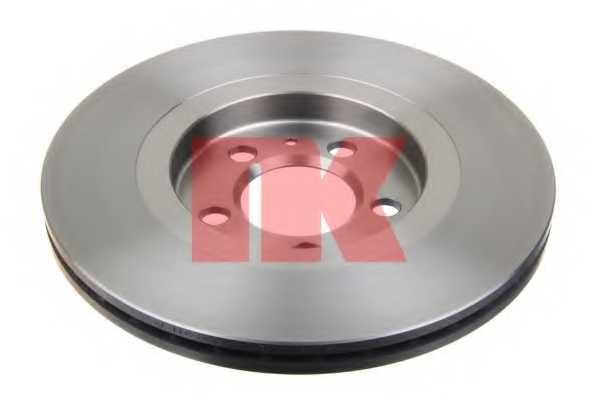 Тормозной диск NK 204735 - изображение 1