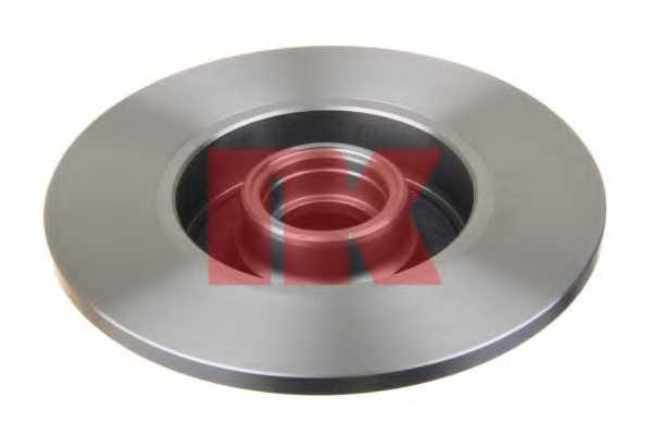 Тормозной диск NK 204736 - изображение 1
